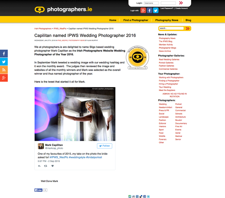 sligo wedding photography