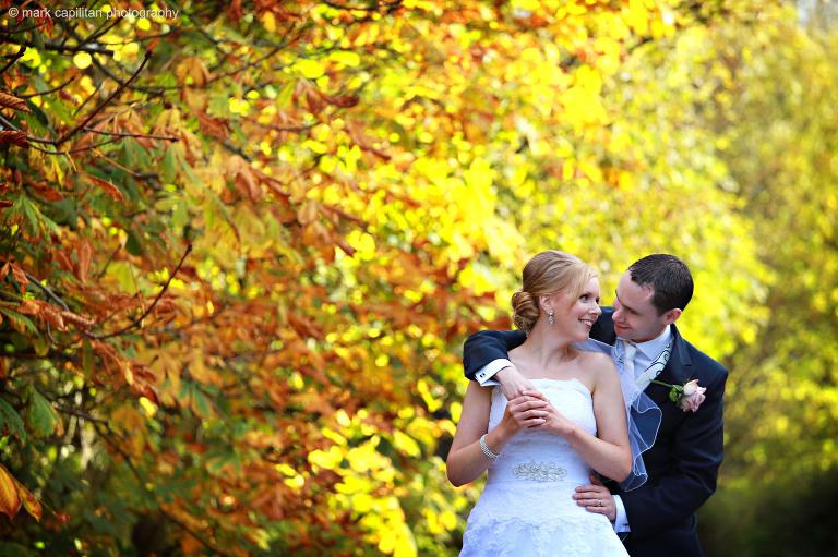 autumn wedding photographer